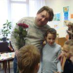 Зустріч із лауреатом Корнійчуковської премії Іваном Андрусяком стала продовженням святкування 135-ї річниці від дня народження Корнія Чуковського в бібліотеці для дітей, яка носить ім`я ювіляра.