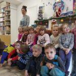 14 січня в бібліотеці №11 відбулося дійство-розвага «Щедрівочка щедрувала». Найменші читачі бібліотеки, вихованці дитячого садочку № 486, завітали  до  бібліотеки і привітали усіх зі святом.